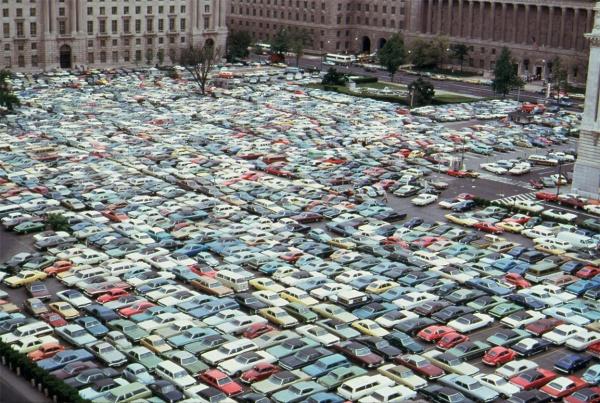 parking jam