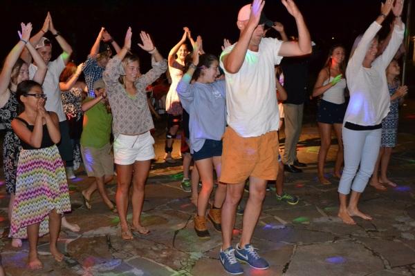 Tuesday night dance -
